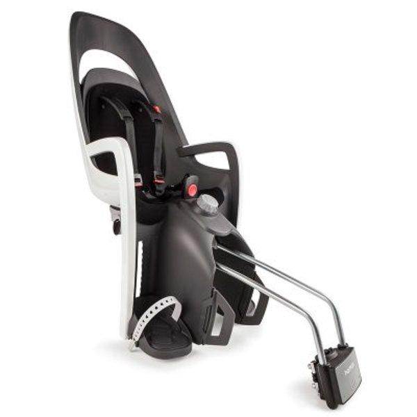 Hamax Fahrradsitz Caress mit abschließbarer Befestigungshalterung Grau/Weiß/Schwarz