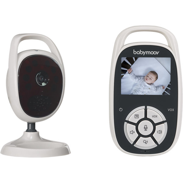 Babymoov You See Babyfon mit Kamera, Nachtsicht und Reichweitenkontrolle,