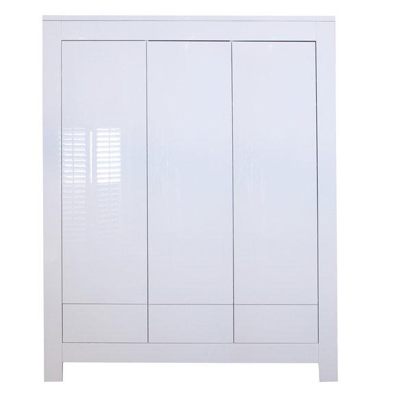 kidsmill schrank 3 t rig somero wei hochglanz. Black Bedroom Furniture Sets. Home Design Ideas