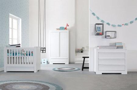 kidsmill kinderzimmer nature wei komplett versandkostenfrei bestellen. Black Bedroom Furniture Sets. Home Design Ideas