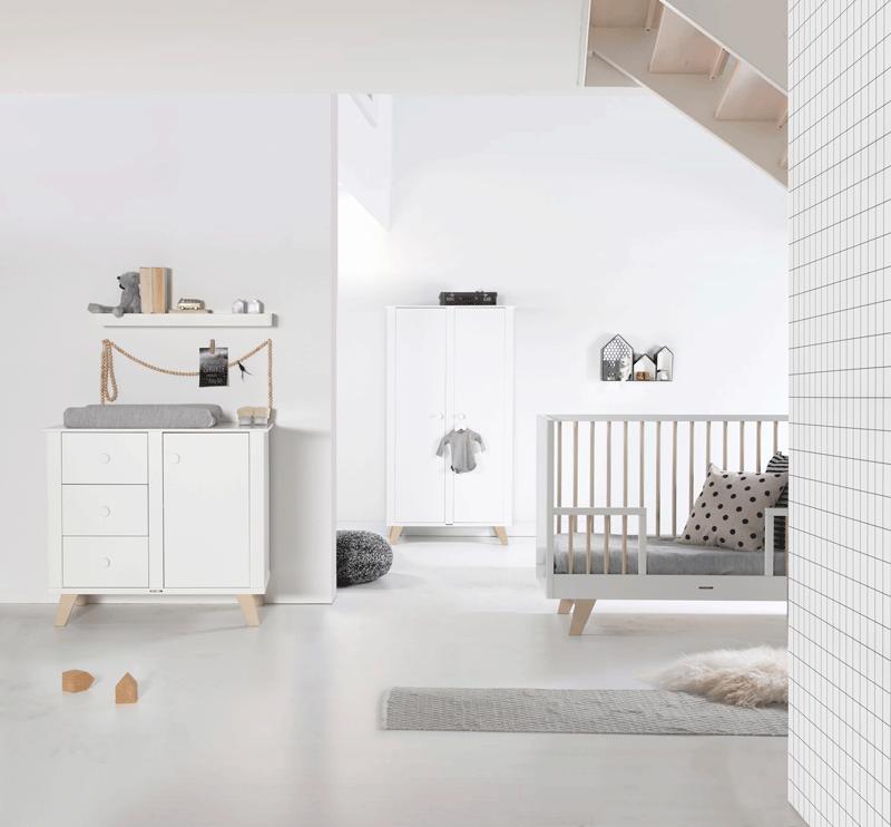 Kidsmill Kinderzimmer Fynn Weiß Schwarz zum Sonderpreis mit ...