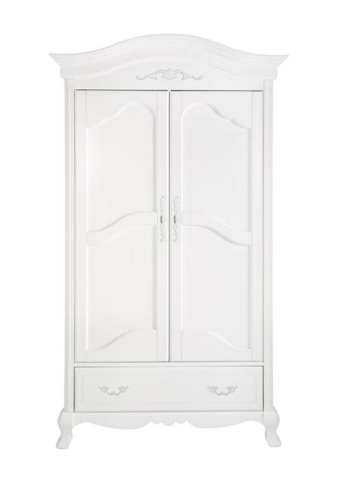 kidsmill kinderzimmer royal wei lackiert komplett mit bett 60x120 cm schrank und kommode. Black Bedroom Furniture Sets. Home Design Ideas